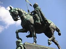 Statuia lui Wenceslas, (în Praga)