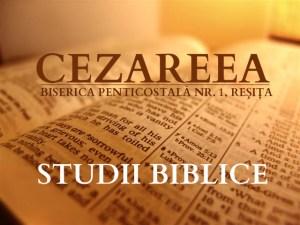 Studiu Biblic, cezareea.ro