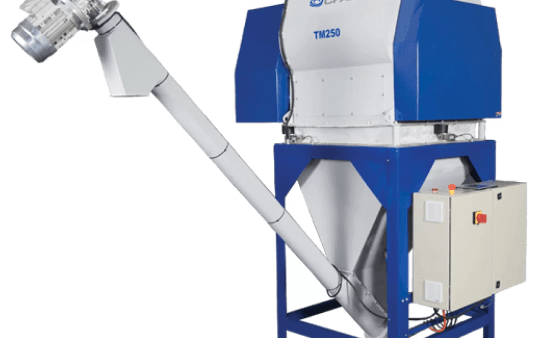 TM-series twin-shaft paddle mixing system
