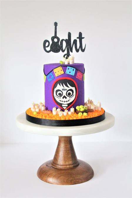 Coco Themed Cake Charity Fent Cake Design