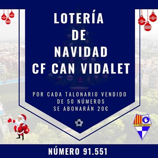 🎁🎄Lotería Navidad🎁🎄 Disponible en la oficina del club. ✔️Obtén 20€ por cada talonario de 50 números vendido.