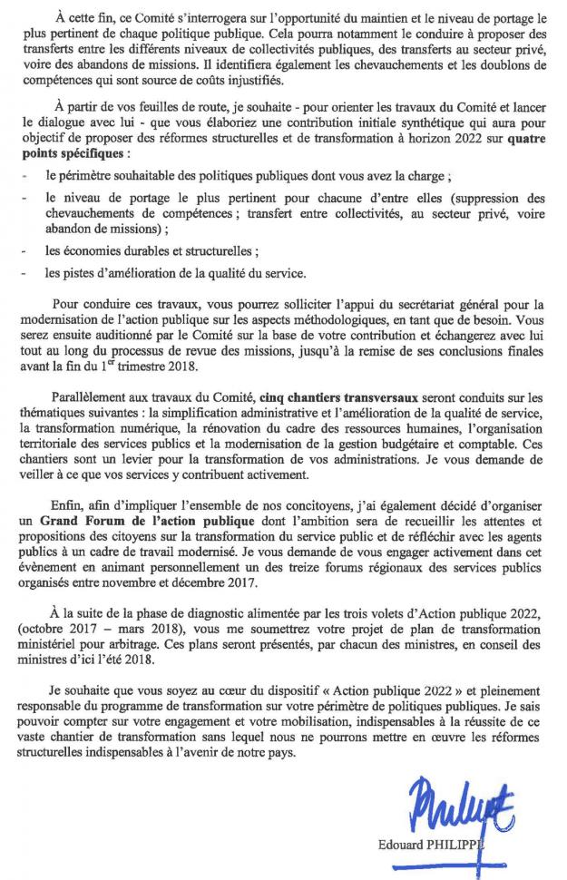 Programme Action publique 2022 Réforme de la fonction publique page 2 sur 2