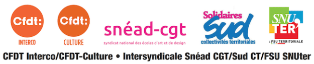 Logo Intersyndicale Ecoles d'art