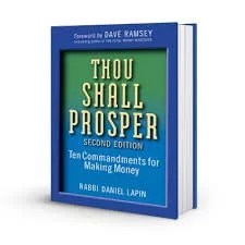 thou shall prosper ten commandments for making money rabbi daniel lapin