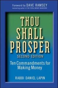 Thou Shall Prosper- Rabbi Daniel Lapin