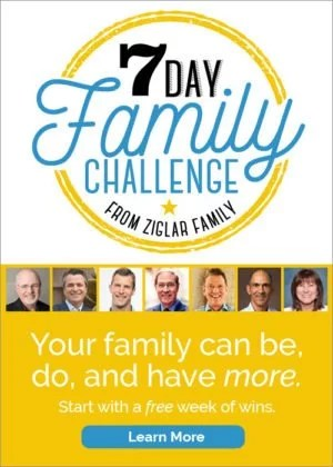 7 Day Ziglar Families That Win Challenge Videos Family
