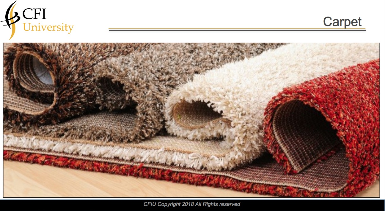 Carpet Inspection Course & Exam