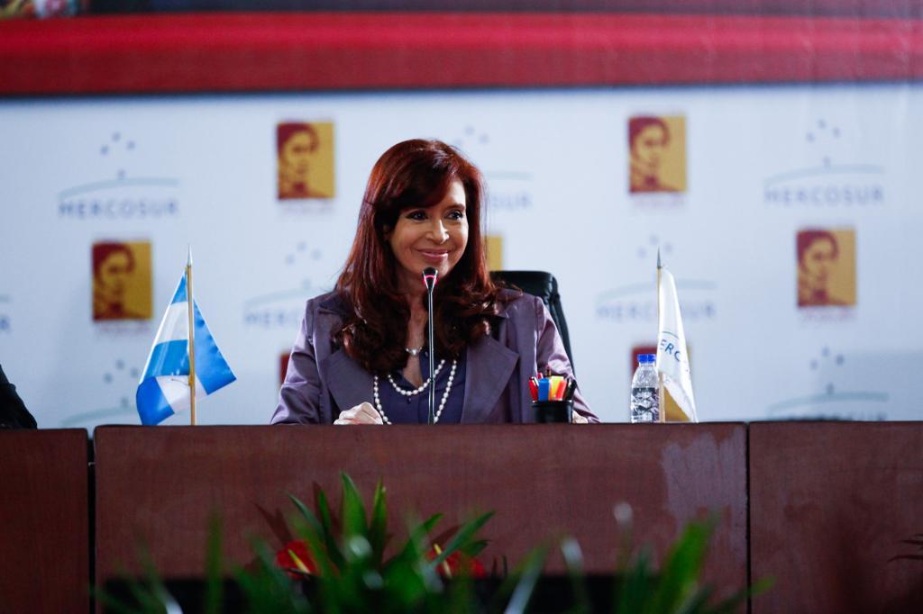 Cristina en Mercosur