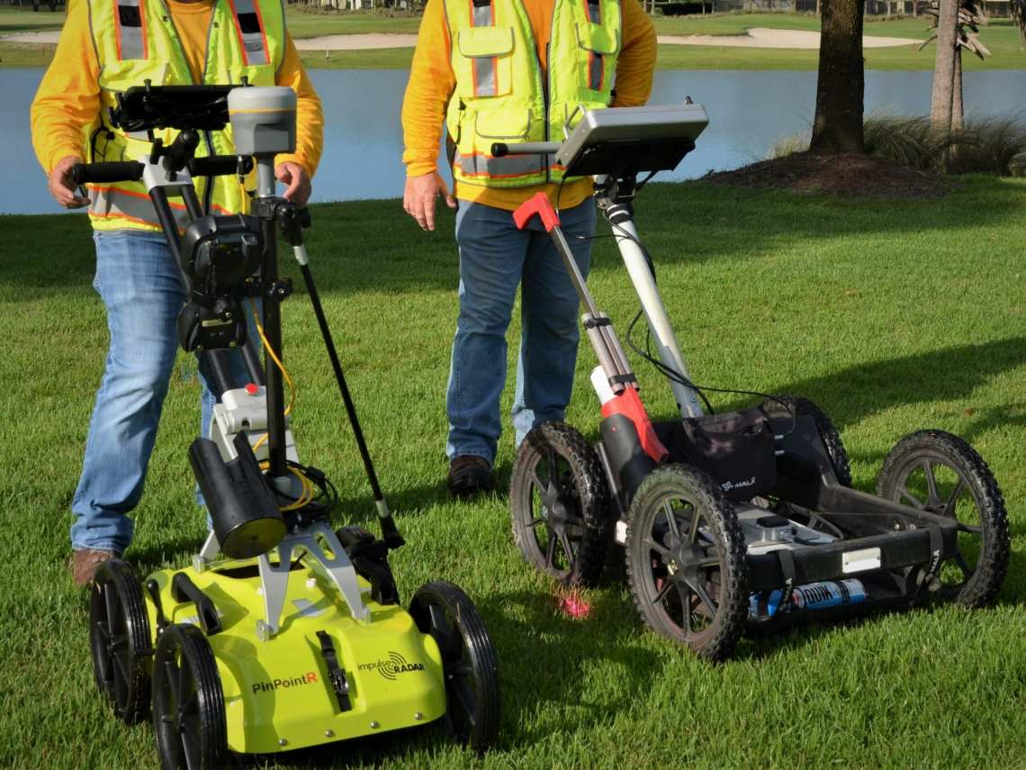 CFL - 2D GPR - Commercial Project Site