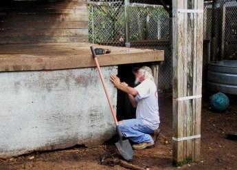 Volunteer Shots Maintenance Work
