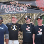 CFL Fans Fight Cancer Climbs for Cancer!