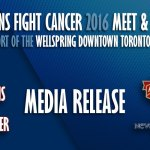 Media Release: CFL Fans Ready to Fight Cancer