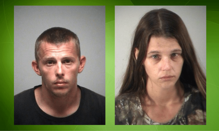 Joseph McGowen and Lacey Bagley, arrested for organized scheme to defraud timeshare owners.