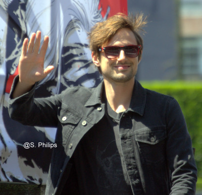 Andrew J West, Gareth from the Walking Dead.  Photo copyright Suzanne Philips