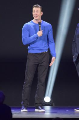 Chris Evans at D23 Expo. Photo Copyright Disney.