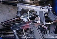 gun buy back program - image of guns