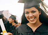 Finding the Words to Succeed - image of graduate