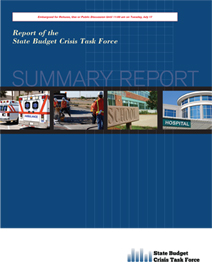 CFNJ Helps Fund New Report on NJ Fiscal Challenges - image of report