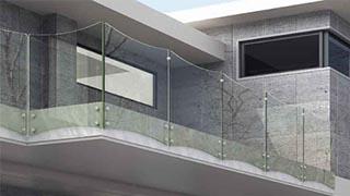 Balaustre in vetro a Empoli