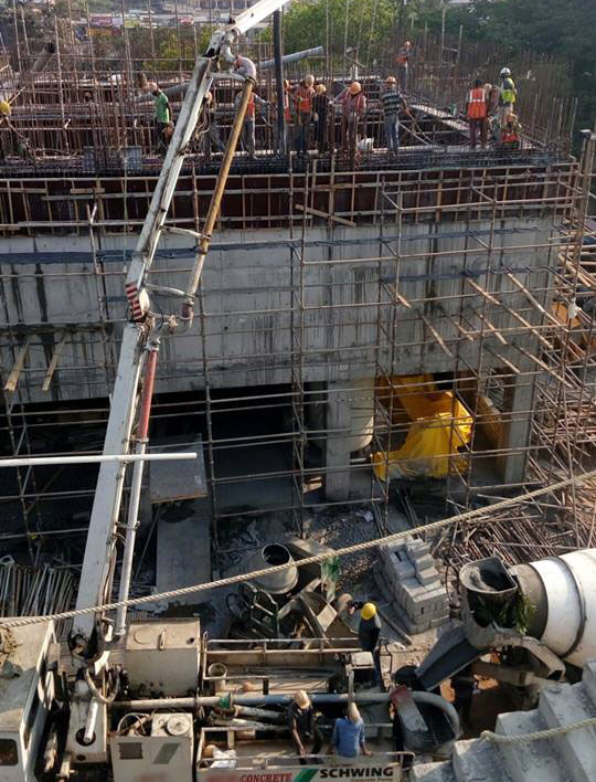 RCC Column Construction Methods