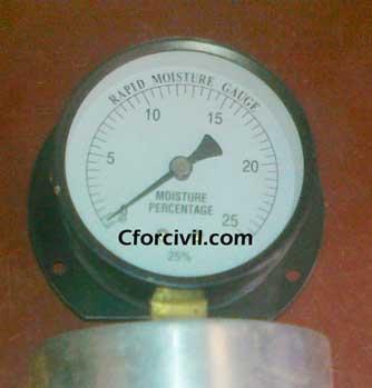 Moisture Content By Rapid Moisture Meter