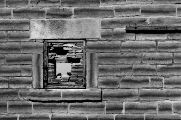 Abandoned Stone House~South Side Window