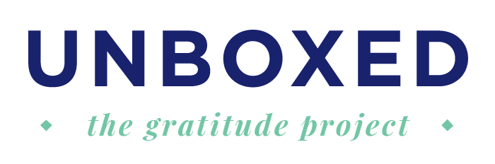 Unboxed: The gratitude project