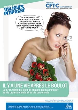 Poster : la mariée