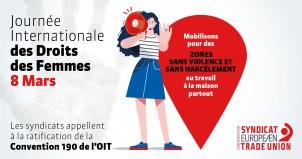 CES : Les femmes travaillant à domicile ont besoin d'une protection supplémentaire contre le harcèlement en ligne