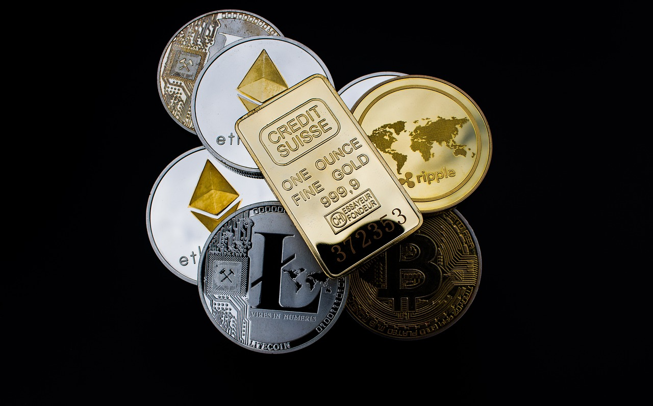 Digital Coins or Token cryptocurrency