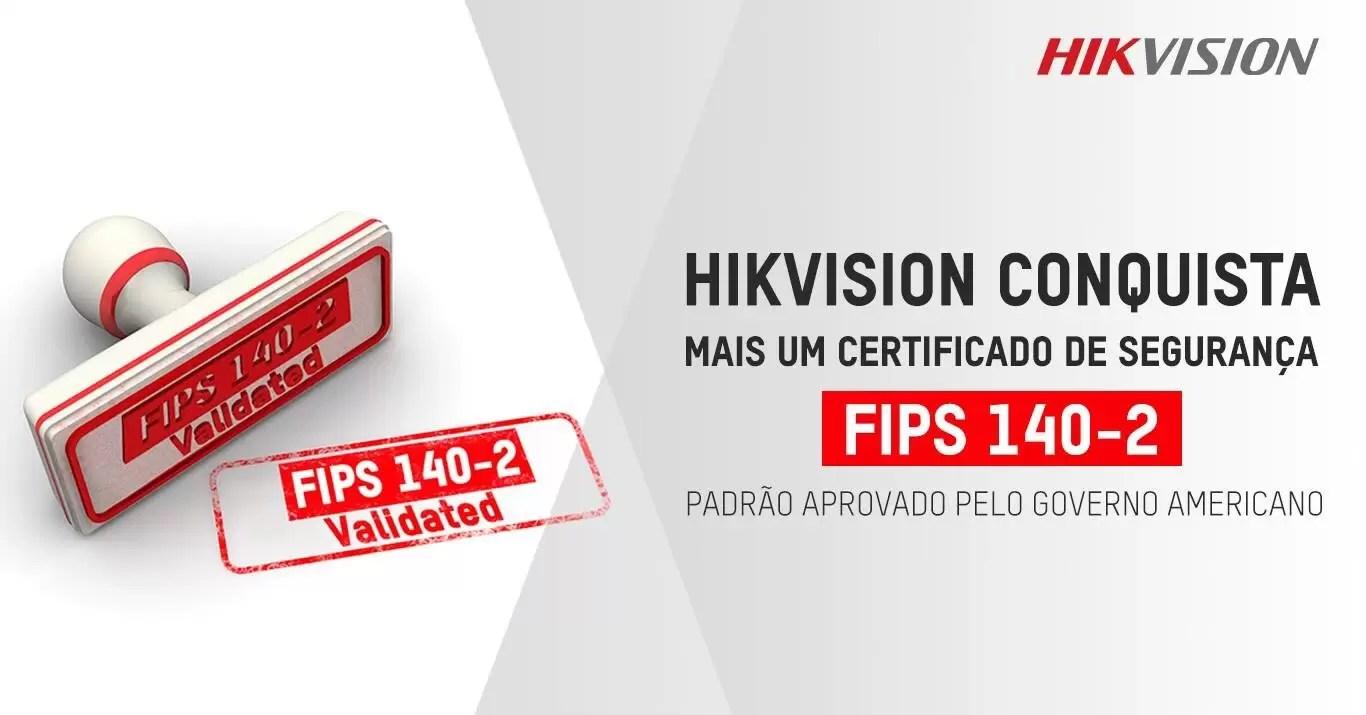 You are currently viewing Hikvision conquista mais um certificado de segurança
