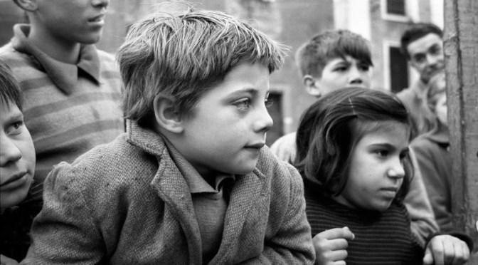 «Bimbi veneziani   1958-1962» Mostra di Gustavo Millozzi