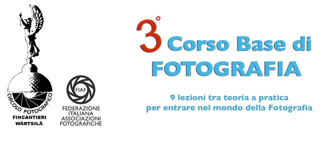 3° Corso base di Fotografia