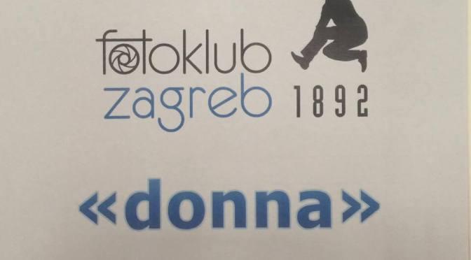 """Inaugurazione della mostra """"DONNA"""" del Fotoklub ZAGREB"""