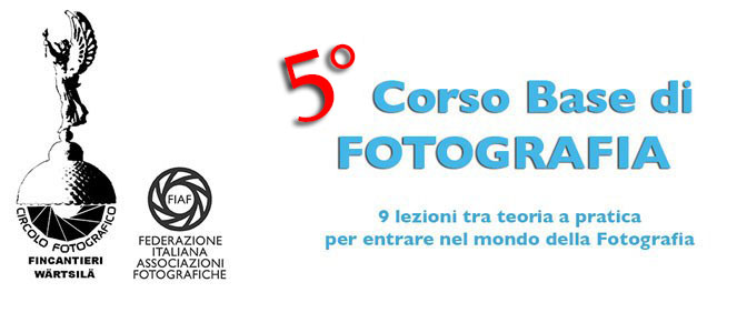 5° Corso Base di Fotografia