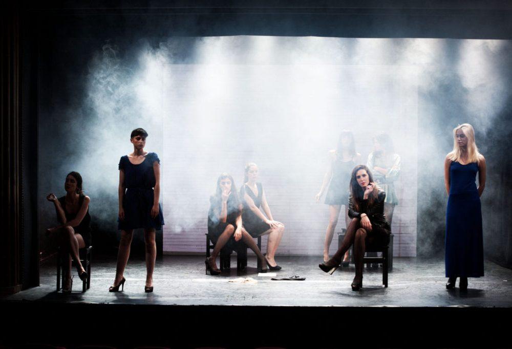Cours Peyran Lacroix. Représentation de fin d'année au théâtre La Pépinière.