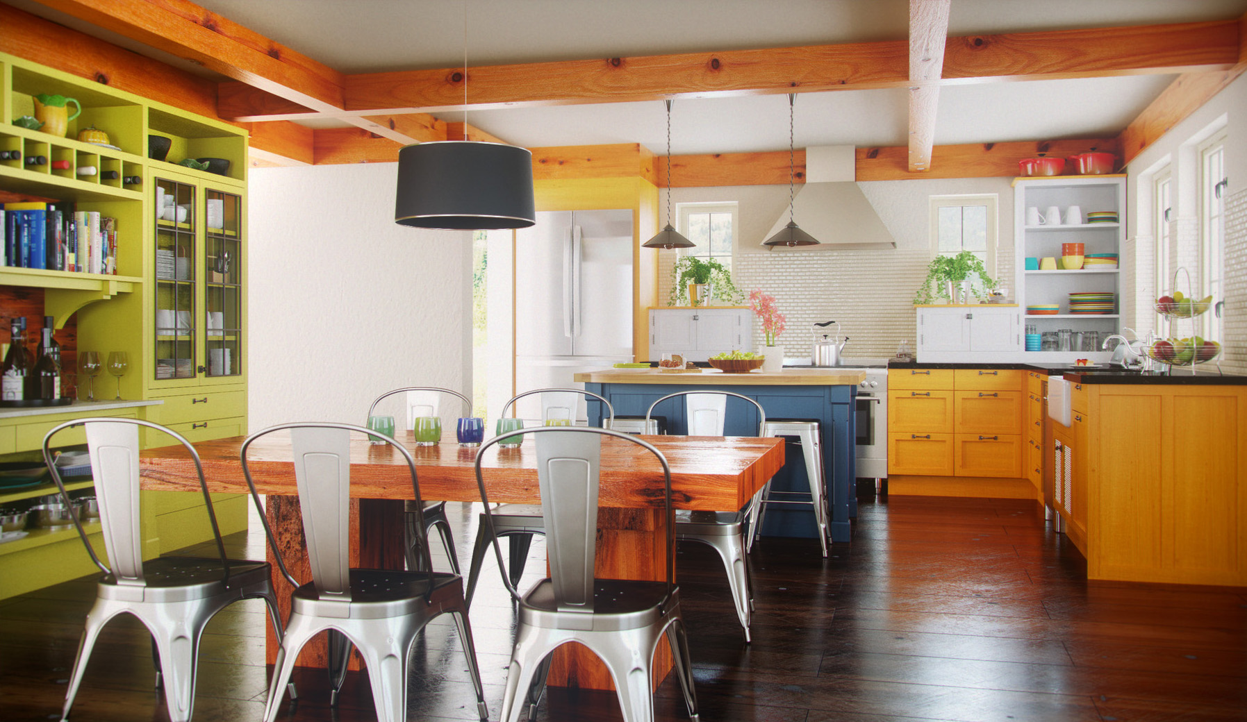 Modern Kitchen Interior Design Evermotion Competition 2011 Cg Projects 3d Archviz