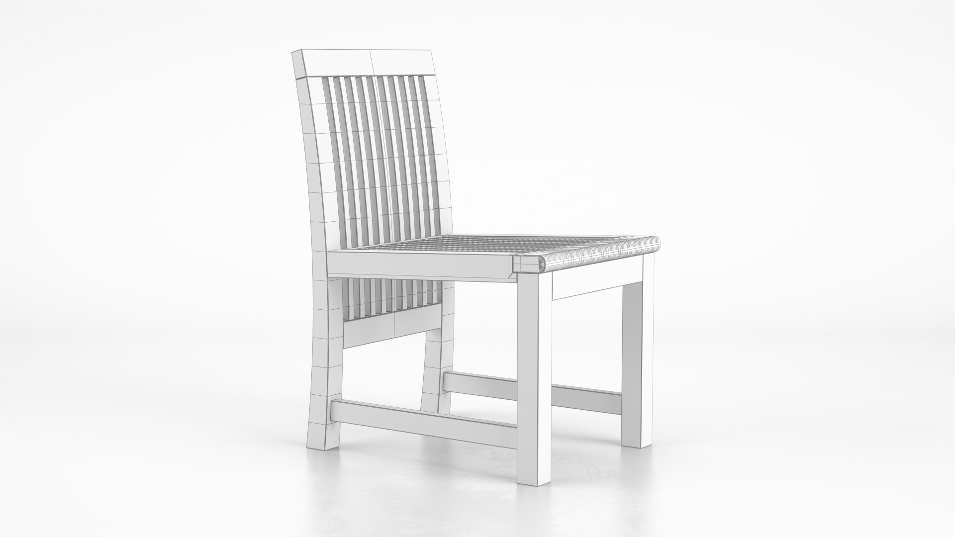 Praslin_SideChair_WhiteSet_01_wire_0000