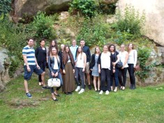 "Besuch von Shakespeare's ""The Merchant of Venice"" in Bourglinster/Luxemburg"