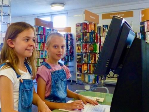 Besuch der Stadtbücherei Wittlich