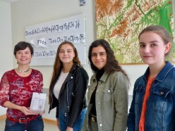 Besuch der Jugendbuchautorin Antje Wagner in der Oberstufe
