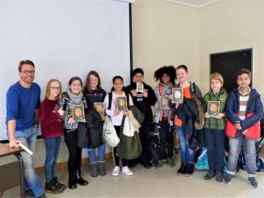 Besuch des Jugendbuchautors Simak Büchel in der 6. Klassenstufe