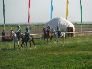 start of the endurance ride