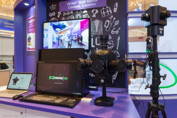 CgangsVR at communicasia 2017