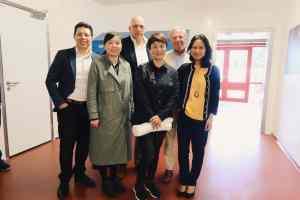Bedrijfsbezoek aan het NVWA samen met Jiangsu FDA bedrijfsbezoek Jiangsu CFDA 2