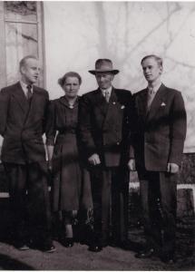 Familjen Otto Eriksson