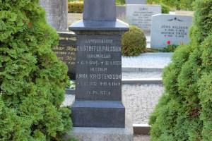 Kristoffer Pålsson (1804-1875) och hustrun Anna Kristensdotter (1812-1869) Skogmöllan