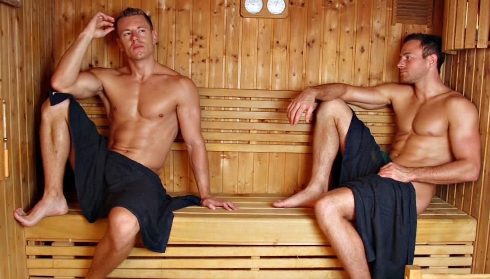 Sauna gay porn photo