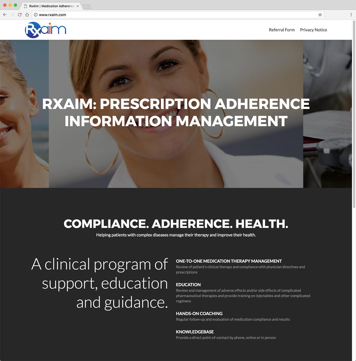 RxAim Website