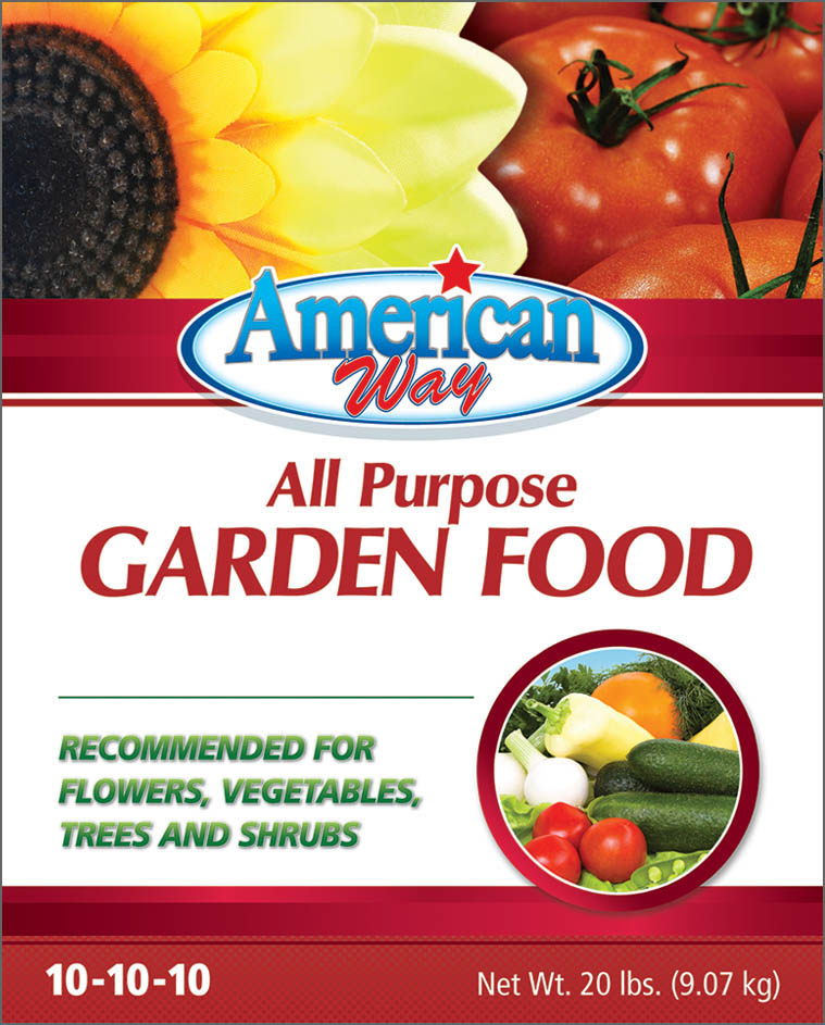 American Way Garden Food - Package Design